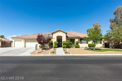 Centennial Hills Single Family Home For Sale: 8305 Fulton Ranch Street