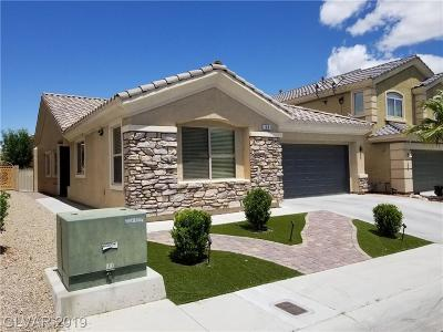 Las Vegas Single Family Home For Sale: 90 Broken Putter Way