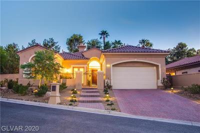 Las Vegas, Henderson Single Family Home For Sale: 20 Avenida Fiori