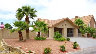 Las Vegas, Henderson Single Family Home For Sale: 3780 Mesa Verde Lane