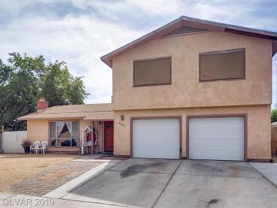 Las Vegas Single Family Home For Sale: 4321 Don Quixote Street