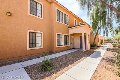 Las Vegas Condo/Townhouse For Sale: 2131 Hussium Hills Street #102
