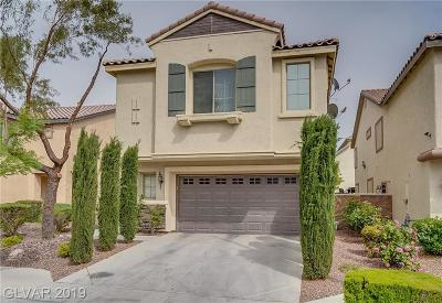 Las Vegas Single Family Home For Sale: 5908 Post Mountain Street