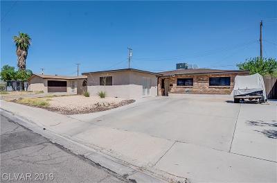 Las Vegas Single Family Home For Sale: 3628 Indios Avenue