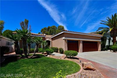 Henderson Single Family Home For Sale: 2505 Bonniewood Court