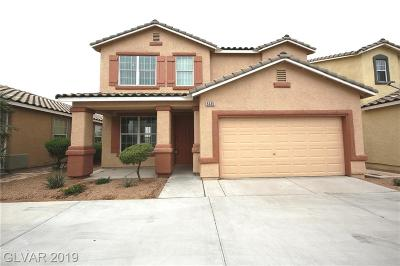 Las Vegas Single Family Home For Sale: 5035 Midnight Oil Drive