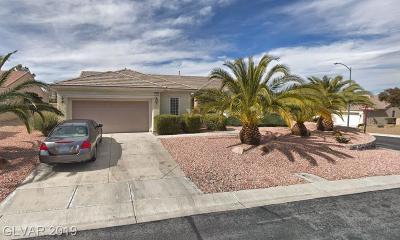 Boulder City, Henderson, Las Vegas, North Las Vegas Single Family Home For Sale: 1605 Meridian Marks Drive