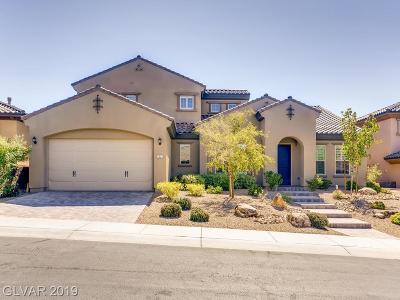 Henderson Single Family Home For Sale: 2521 Chateau Napoleon Drive
