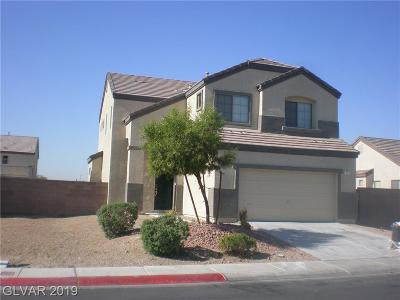 North Las Vegas Single Family Home For Sale: 121 Tainted Berry Avenue