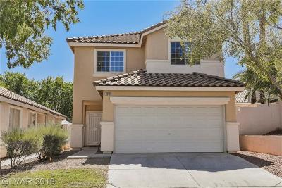 Henderson Single Family Home For Sale: 1849 Thunder Mountain Drive