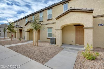 Las Vegas Condo/Townhouse For Sale: 4636 Dover Straight Street #lot 475