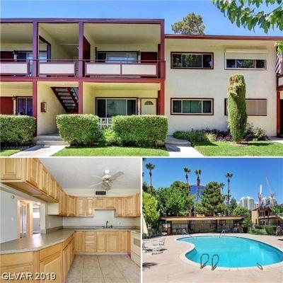 Henderson, Las Vegas Condo/Townhouse For Sale: 350 Desert Inn Road #E102