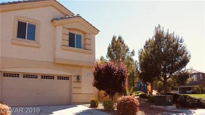 Las Vegas Single Family Home For Sale: 71 Myrtle Springs Court