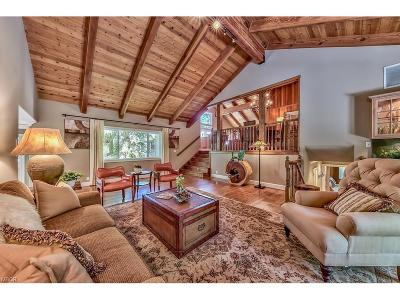Incline Village Single Family Home For Sale: 830 Lakeshore Drive