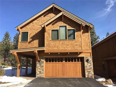 Incline Village Single Family Home For Sale: 649 Rosewood Circle