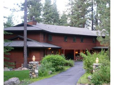 Incline Village Single Family Home For Sale: 999 Fairway Boulevard
