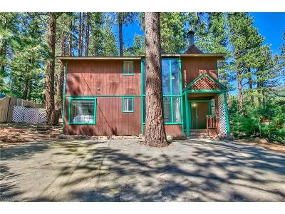 Incline Village Single Family Home For Sale: 274 Tramway Road