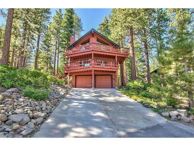 Incline Village Single Family Home For Sale: 666 Tumbleweed Circle