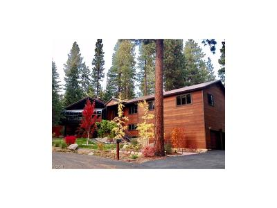 Incline Village Single Family Home For Sale: 236 Allen Way