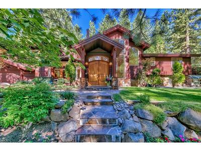 Incline Village Single Family Home For Sale: 130 Rubicon Peak