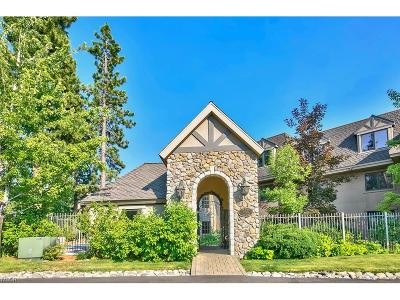 Incline Village Condo/Townhouse For Sale: 933 Northwood Boulevard #6