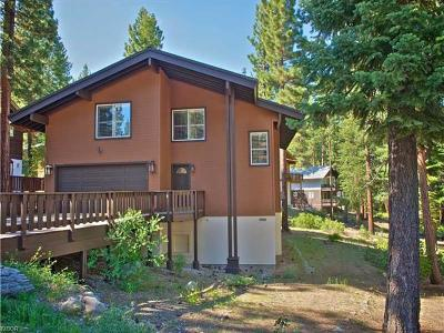 Incline Village Single Family Home For Sale: 1499 Tirol