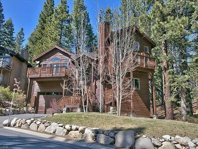 Incline Village Single Family Home For Sale: 568 Antler Court