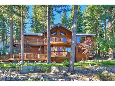 Incline Village Single Family Home For Sale: 606 Lakeshore Boulevard