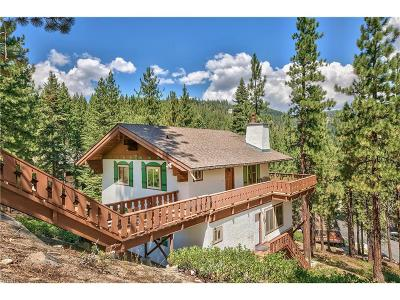 Incline Village Single Family Home For Sale: 1483 Tirol Drive