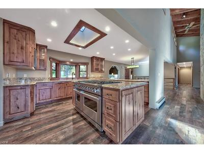 Incline Village Single Family Home For Sale: 119 Vue Court