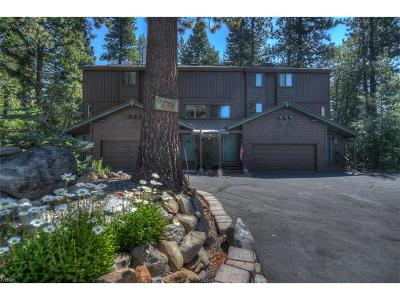 Incline Village Condo/Townhouse For Sale: 739 Crosby Court #3