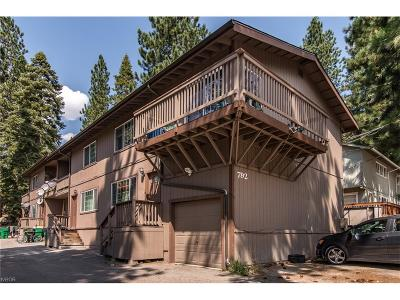 Incline Village Multi Family Home For Sale: 792 Northwood Boulevard