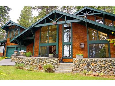 Incline Village Single Family Home For Sale: 62 Shoreline Circle
