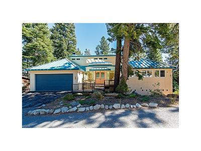 Incline Village Single Family Home For Sale: 609 Dorothy