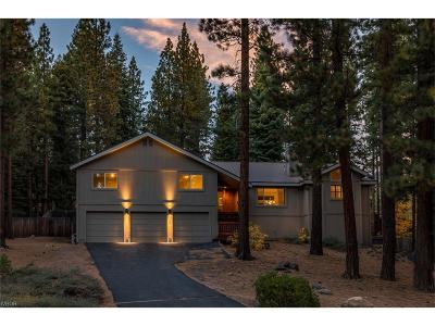 Incline Village Single Family Home For Sale: 896 Donna Drive