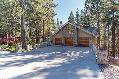 Incline Village Single Family Home For Sale: 641 Crystal Peak Road