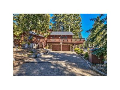 Incline Village Single Family Home For Sale: 568 Valley Drive