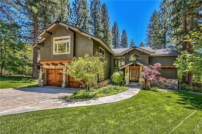 Incline Village Single Family Home For Sale: 715 Martis Peak