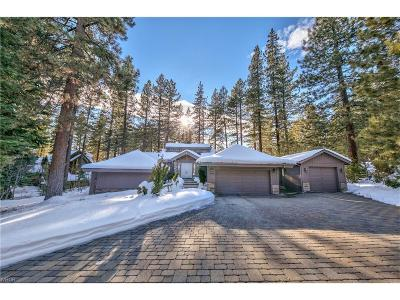 Incline Village Single Family Home For Sale: 595 Putter Court