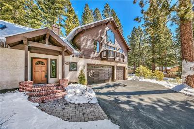 Incline Village Single Family Home For Sale: 842 McCourry Boulevard