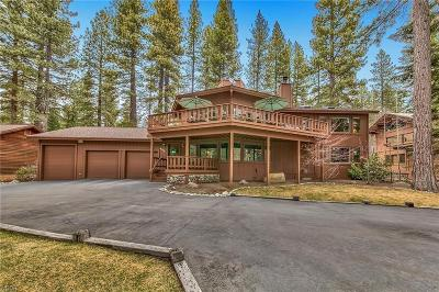 Incline Village Single Family Home For Sale: 842 Lakeshore Boulevard