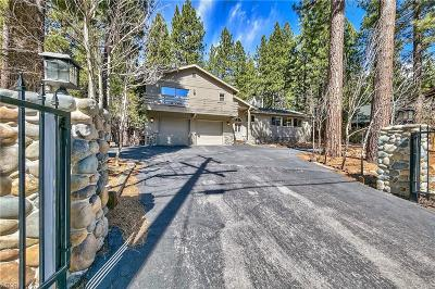 Incline Village Single Family Home For Sale: 806 McCourry Boulevard