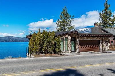 Incline Village Single Family Home For Sale: 1709 Lakeshore Boulevard
