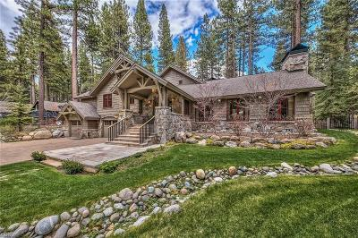Incline Village NV Single Family Home For Sale: $5,900,000