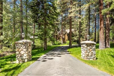Incline Village Single Family Home For Sale: 585 Putter Court