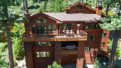 Incline Village Single Family Home For Sale: 567 Knotty Pine Drive