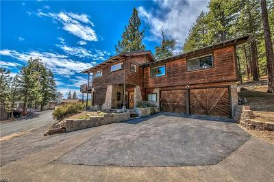 Incline Village Single Family Home For Sale: 816 Jeffrey Court