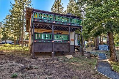 Zephyr Cove, Incline Village, Crystal Bay Single Family Home For Sale: 1308 Tirol Drive
