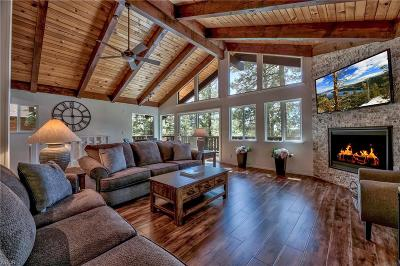 Incline Village Single Family Home For Sale: 1100 Lucerne Way