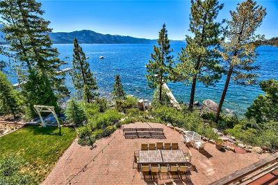 Incline Village Single Family Home For Sale: 453 Lakeshore Boulevard